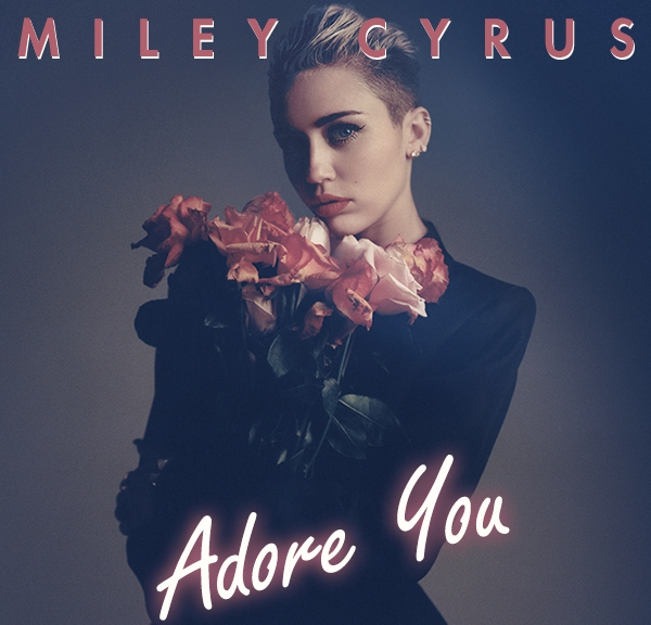 "Miley-Cyrus-unveils-the-cover-of-her-latest-single-""Adore-You"""